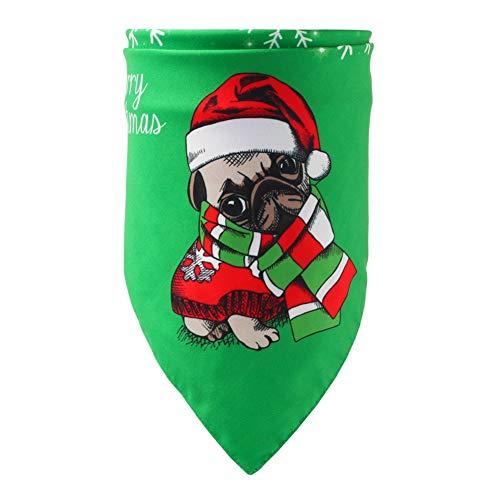 Savlot halsdoek voor honden en katten, bandana, Kerstmis, halsband, slabbetjes, dierenaccessoire voor vachtverzorging, bandana, voor honden en Kerstmis, wasbare sjaal, zakdoeken, A3