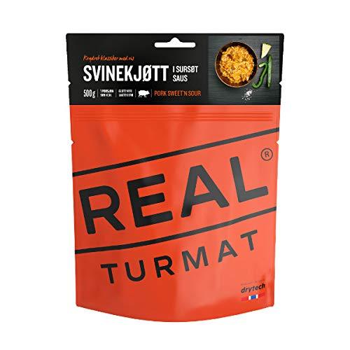Drytech Real Turmat - Schweinefleisch in süß-saurer Soße - gefriergtrocknete Outdoornahrung