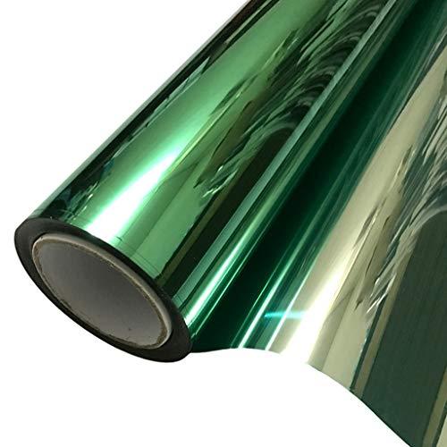 Fensterfolien Sonnenschutzfolie Isolationsfolie Fenster Sonnenschutzglas Film Home Solar Film One-Way-Perspektive Balkon Schlafzimmer Sonnenschutz Blackout Aufkleber 30 * 200 cm (Size : 120 * 100cm)