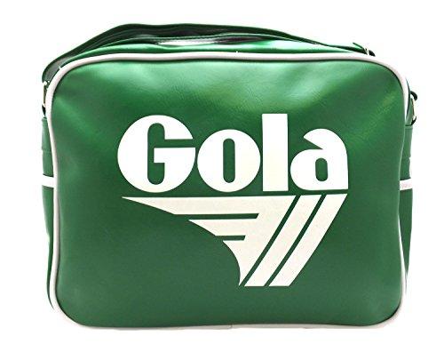 Gola Originals Classic 70s Apple Green Messenger Bag