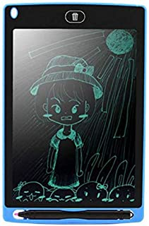 Buddymate Y83 Portable Re-Writable LCD E-Pad for Drawing/Playing/Handwriting, 8.5-inch (Assorted Colour)