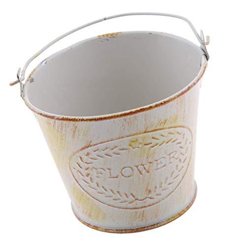 Why Should You Buy Faturt Idyllic Retro Garden Retro Wrought Iron Flower Pot Iron Flower Home Multi-...