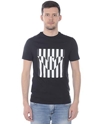 Emporio armani - 0999 t-shirt nero 3H1TB71J30Z