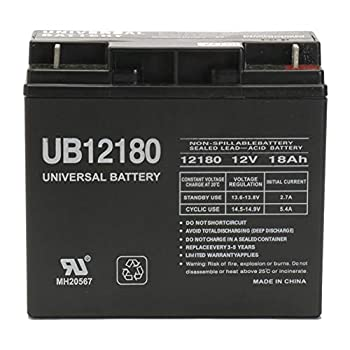 Universal Power Group 12V 18AH Champion Generator 9000 7000 Rechargeable Battery
