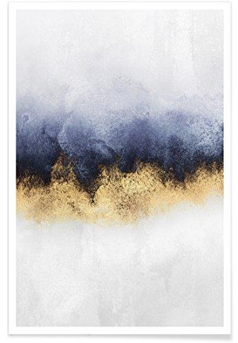 """Juniqe® Abstrakte Landschaften Poster 40x60cm - Design """"Sky"""" entworfen von Elisabeth Fredriksson"""
