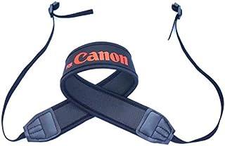 Cotton Neck Shoulder Black Belt Flexible Camera Strap for DSLR Sony Canon