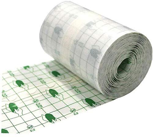 xuew Wasserdicht Transparent Film Roll 15cmx10m Klebeband Medizinischer Wundverband Fixer Gips Stretch Fixation Tape Tattoo Nachsorge Verband Anti-Allergie-Selbst Paste