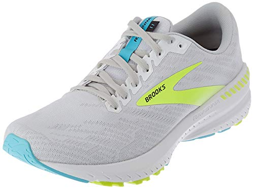 Brooks Ravenna 11, Scarpe da Corsa Uomo, White/Nightlife/Capri, 47.5 EU