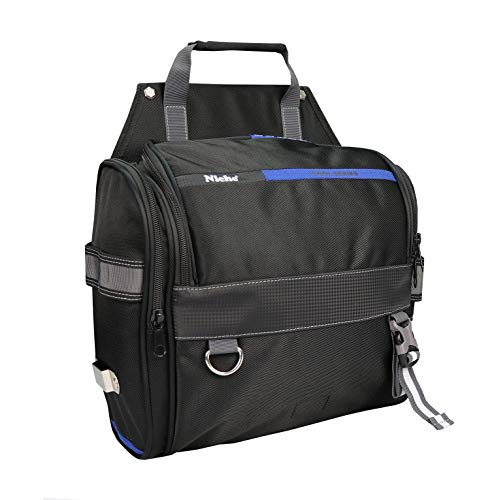 Niche Tool bag with Shoulder Strap Wide Opening Tool Storage bag Large Capacity MultiCompartment Tool Carrier TL6206