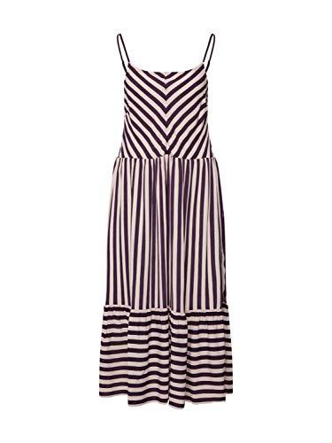 nümph Damen Jenessa Dress Kleid, Violett (3514 Plum Per (Herstellergröße: 38)