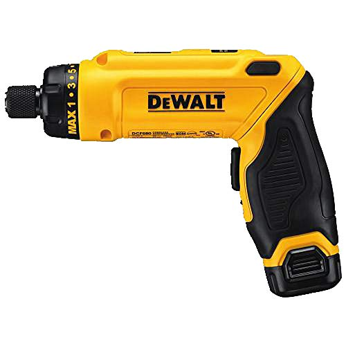 DEWALT 8V MAX MAC SCREWDRIVER 1 BATTE