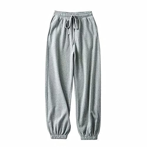 OtoñO Nuevo Hip-Hop Street Hipster Ladies Casual Pantalones Terry Pants