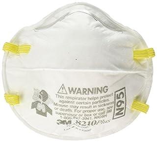 3M Safety 142-8210PLUS N95 8210Plus Particulate Respirator (Box of 20) (B01HMF7DRI) | Amazon price tracker / tracking, Amazon price history charts, Amazon price watches, Amazon price drop alerts