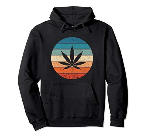 Kiffer Kleidung I BFF Marihuana Retro Vintage Weed Pullover Hoodie