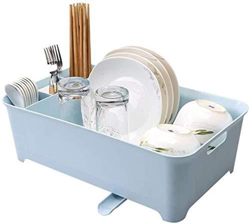 XXT afdruiprek druiprek plat keukenrek kunststof opbergdoos servies bowl onderzetter vlak
