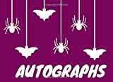 Autographs: Autograph Book For Favourite Celebrity and Cartoon Character Signatures, Sports, Movies,...