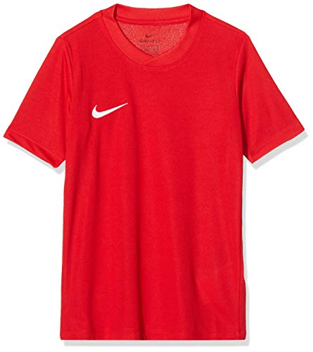 Nike Park VI Jersey SS Youth, Sport Shirt Bambino, Rosso (University Red/White 657), Large
