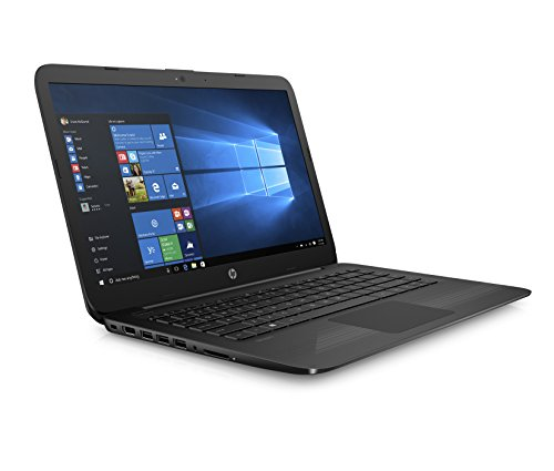HP Stream 14 Inch Laptop (2018 New), Intel Celeron N3060 Processor, 4GB RAM, 32GB eMMC Storage, Office 365 Personal 1-year included, Windows 10 Home, Jet Black