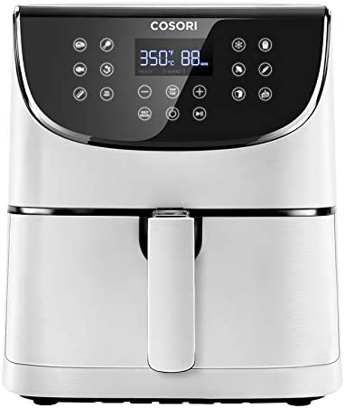 COSORI Air Fryer Max XL(100 Recipes) Electric Hot Oven Oilless Cooker LED Touch Screen with 13 Cooking Functions, Preheat and Shake Reminder, Nonstick Basket, 5.8 QT, DIGITAL-Black