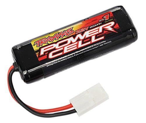 Traxxas 2925A batería Recargable Níquel-Metal hidruro (NiMH) 1200 mAh 7,2 V - Batería/Pila Recargable (1200 mAh, Níquel-Metal hidruro (NiMH), 7,2 V, Negro, 1 Pieza(s))