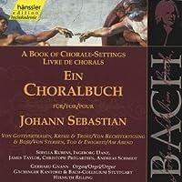 Bach: A Book of Chorale Settings, 8 - Trust; Death and Eternity, etc (Edition Bachakademie Vol 85) /Rilling by Johann Sebastian Bach (2000-02-21)