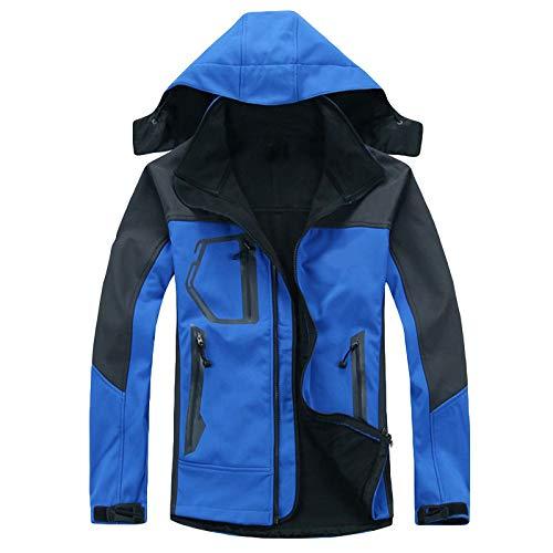 Waterproof Jacket for Women Warm with Hood Hiking Lightweight Zip Up Winter Mountain Outdoor Snow Raincoat with Pockets