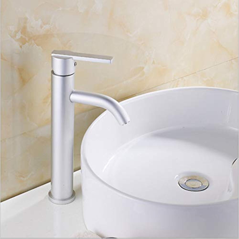 Floungey BadinsGrößetionen Waschtischarmaturen Küchenarmaturen Space Aluminium Becken Wasserhahn Space Aluminium Wasserhahn Heien Und Kalten Wasserhahn