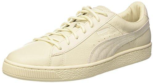 PUMA Basket Classic Citi Sneaker, Birch, 5
