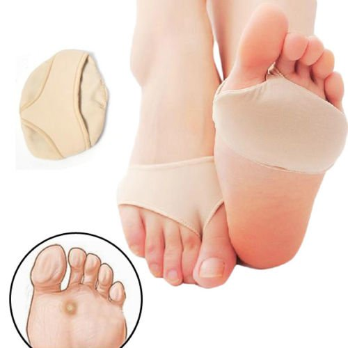 Forefoot Support Ball Of Foot Gel Pads Cushions Metatarsal Sore Hard Skin Relieve Forefoot Pain
