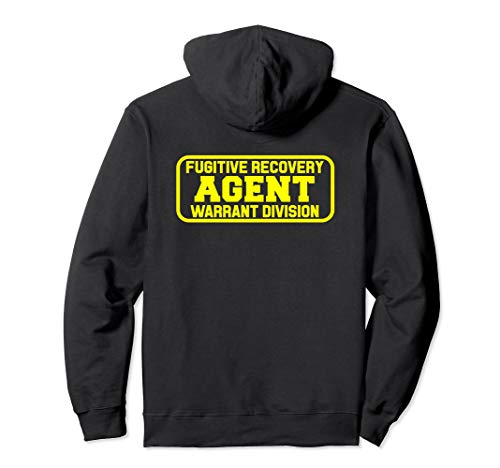 Fugitive Recovery Agent Hoodie for Bounty Hunters Bail