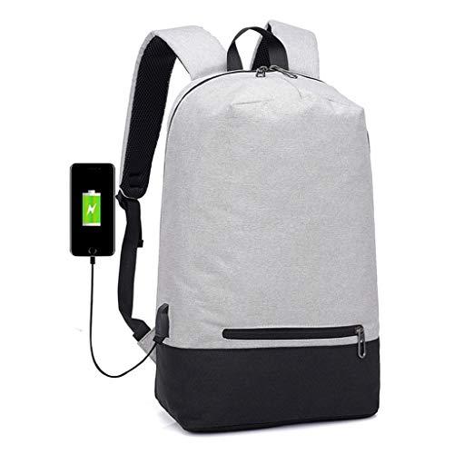 Business Laptop Rucksack Water Resistant Anti-Theft College Rucksack Mit USB Charging Port und Lock 15,6 Zoll Computer Rucksack Für Frauen Männer, Casual Hiking Travel Daypack,A