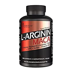 Dieser Testosteron Booster hat Bestwerte: Arginin Maca von Biomenta®