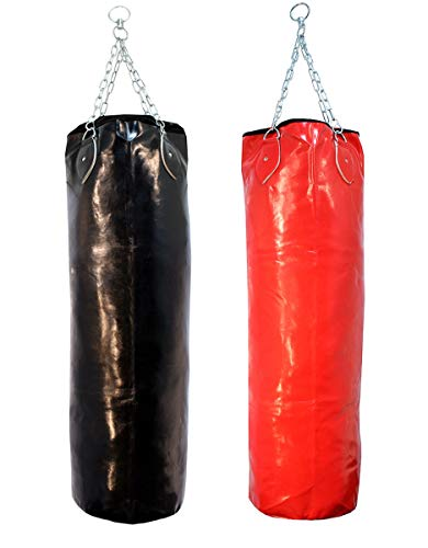 Heavy Duty Vynl Boxing Puching Bag Black