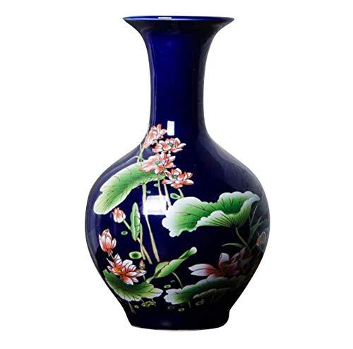 Black Temptation Elegante florero, florero de cerámica para la decoración del hogar, Sala de Estar y Oficina, 06