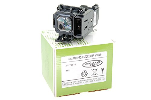 Alda PQ-Premium, Lámpara de proyector para NEC VT59 Proyectores, lámpara con Carcasa