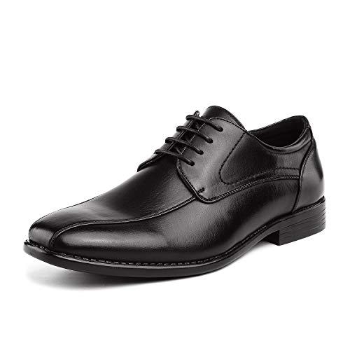 Bruno Marc Men's Dress Shoes Formal Classic Square Toe Lace-up Oxfords Black Size 10.5 M US DP-03