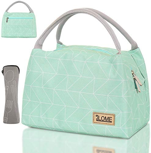 ILOME Insulated Lunch Bag for Women and Men Large Tote Insulated Lunch Bag with Pockets Perfect product image