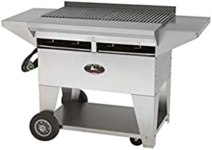 product image for Lazy Man Model A2 Elite Propane Gas Stainless Steel Gourmet Series Mobile Grill