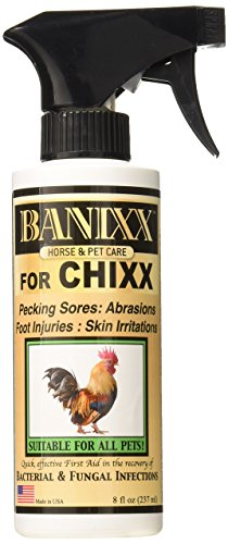 Price comparison product image Banixx for Pecking Sores,  Bumble Foot,  Fowl Pox,  Raw Vent Area Infection,  Chicken Leg / Foot Injuries