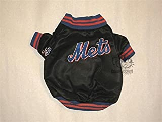 Sporty K9 New York Mets Dugout Dog Jacket, X-Large