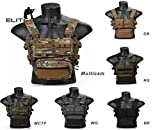 Elite Tribe MK3 Modular Lightweight Chest Rig Micro Fight Chissis 5.56 Mag Pouch (RG)