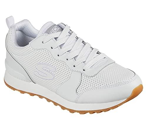 Skechers OG 85, Zapatillas Mujer, White, 40 EU