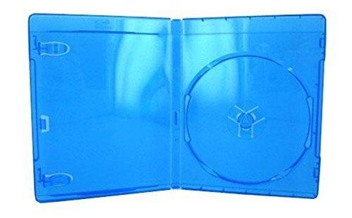 10 azul funda para Blu-ray DVD de película caja de disco CD, doble ...