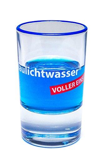 Blaulichtwasser - Blaulichtwasser Shot-Glas