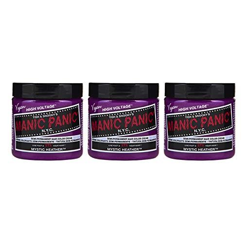 Manic Panic Mystic Heather Hair Dye Color 3 Pack