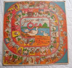 Lámina juego - Game Sheet : JUEGO DE LA OCA