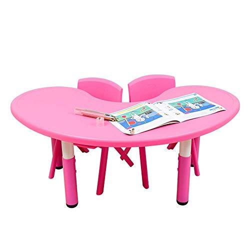 Tägliche Ausrüstung Kinder Schreibtisch und Stuhl Set Kinder Tisch und Stühle Set - 2 Stühle und 1 Aktivität Tisch für Kinder - Pädagogische Kleinkinder Möbel Set für Ihre Kinder Studiertisch Schre