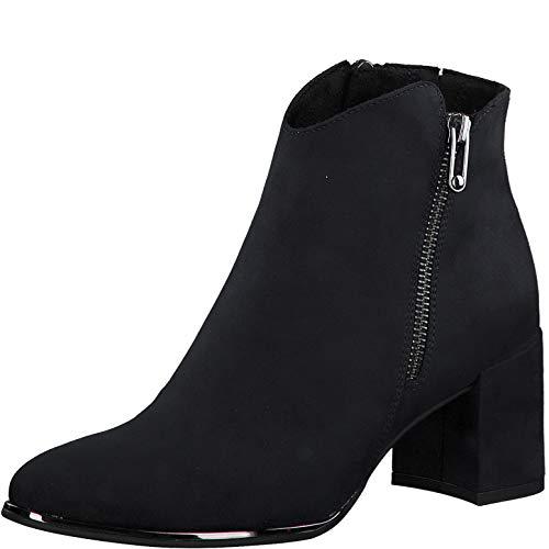 MARCO TOZZI Damen 2-2-25015-25 Stiefelette Mode-Stiefel, DK.Navy, 40 EU