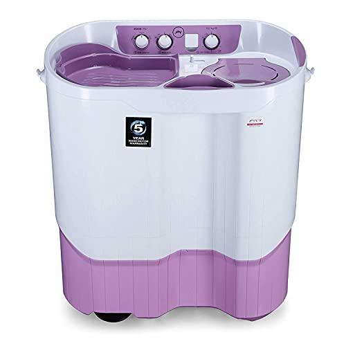 Godrej 9 Kg Semi-Automatic Top Loading Washing Machine (WS EDGEPRO 900 ES LISP, Lilac Sprinkle,...