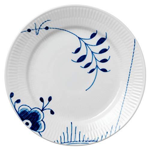 Royal Copenhagen 1017364 Blue Fluted Mega Frühstücksteller, Porzellan